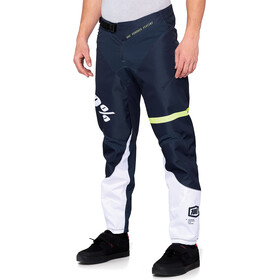 100% R-Core DH Pants Men dark blue/yellow